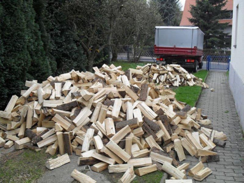 9 Schüttraummeter - Nadelholz, frisch